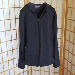 Aspire Grey Gray Pink Workout Jacket